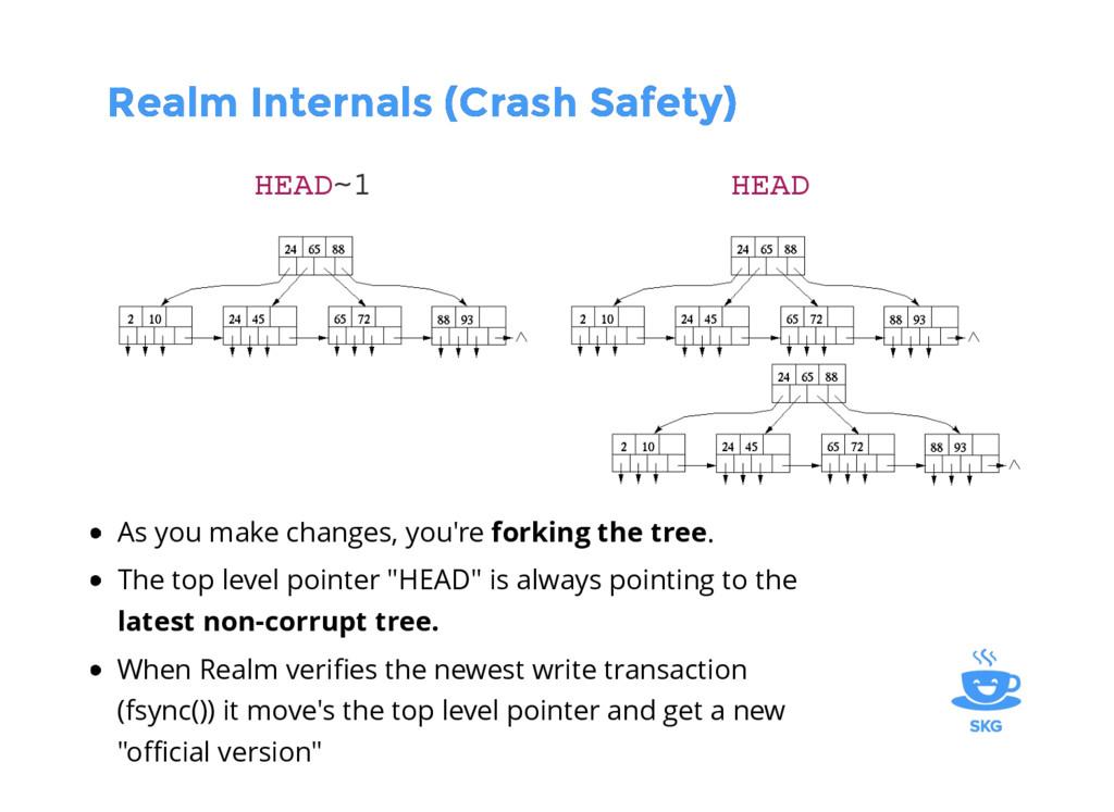 Realm Internals (Crash Safety) Realm Internals ...