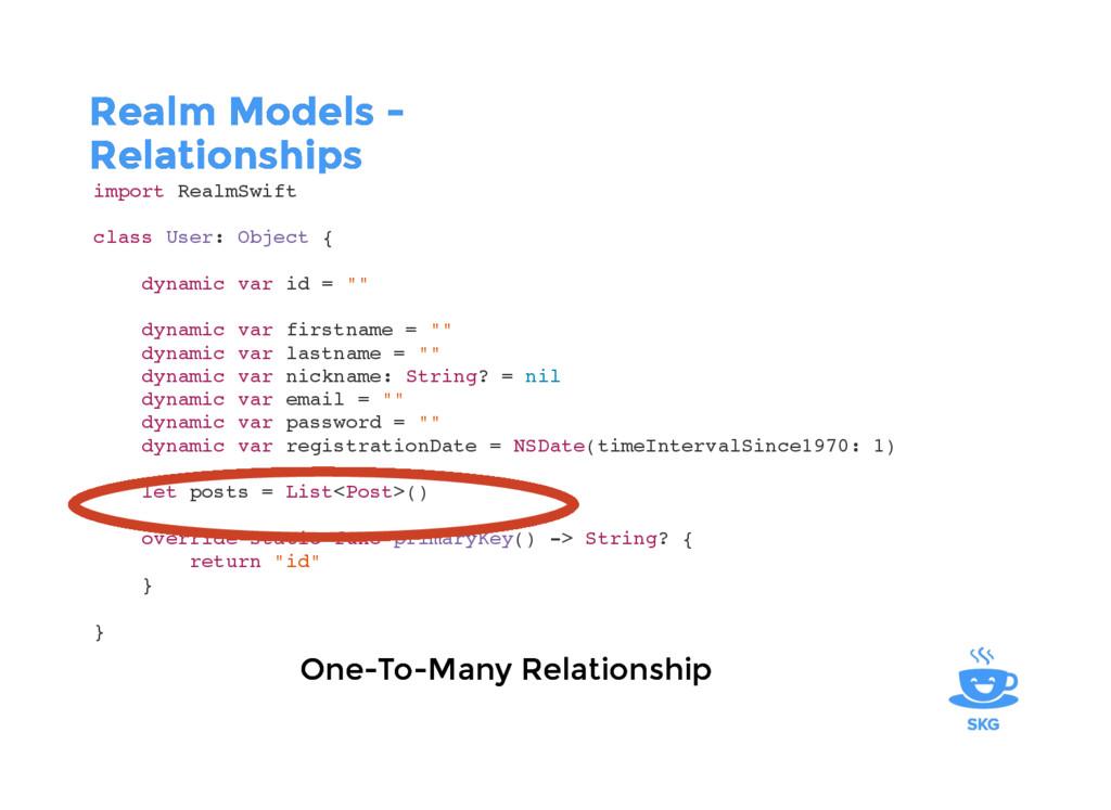 Realm Models - Realm Models - Relationships Rel...