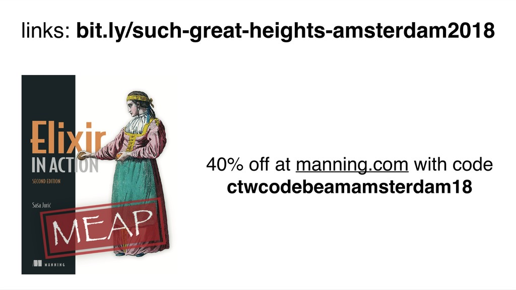 40% off at manning.com with code ctwcodebeamams...