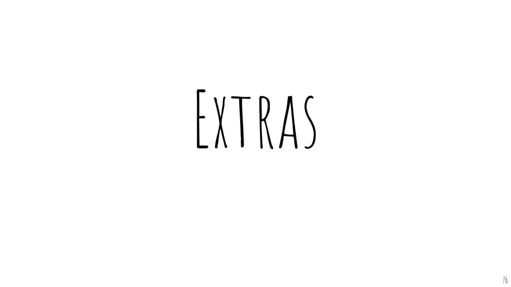 Extras 76