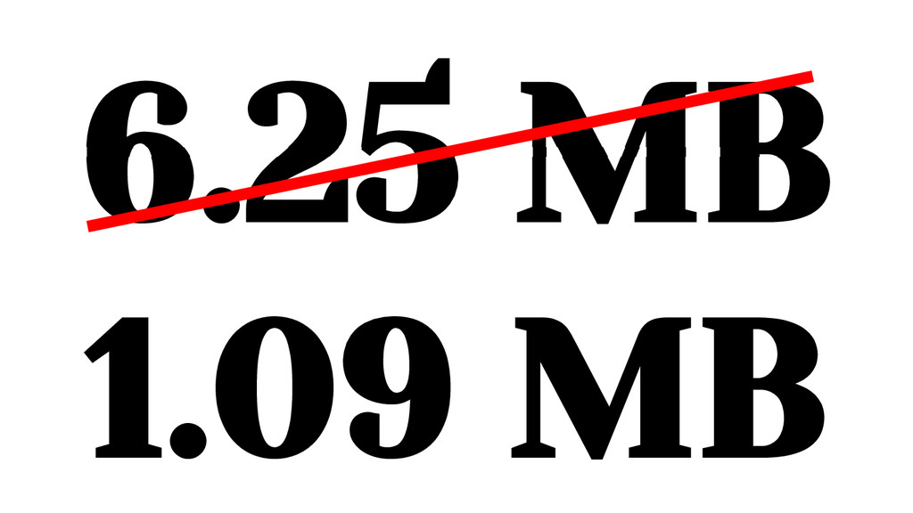 6.25 MB 1.09 MB