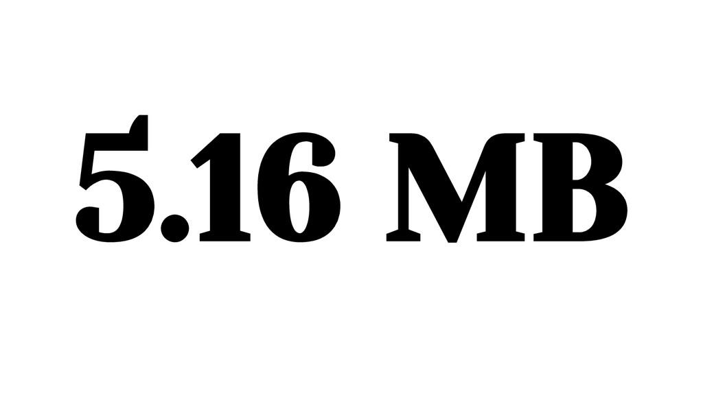 5.16 MB