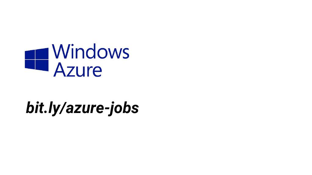 bit.ly/azure-jobs