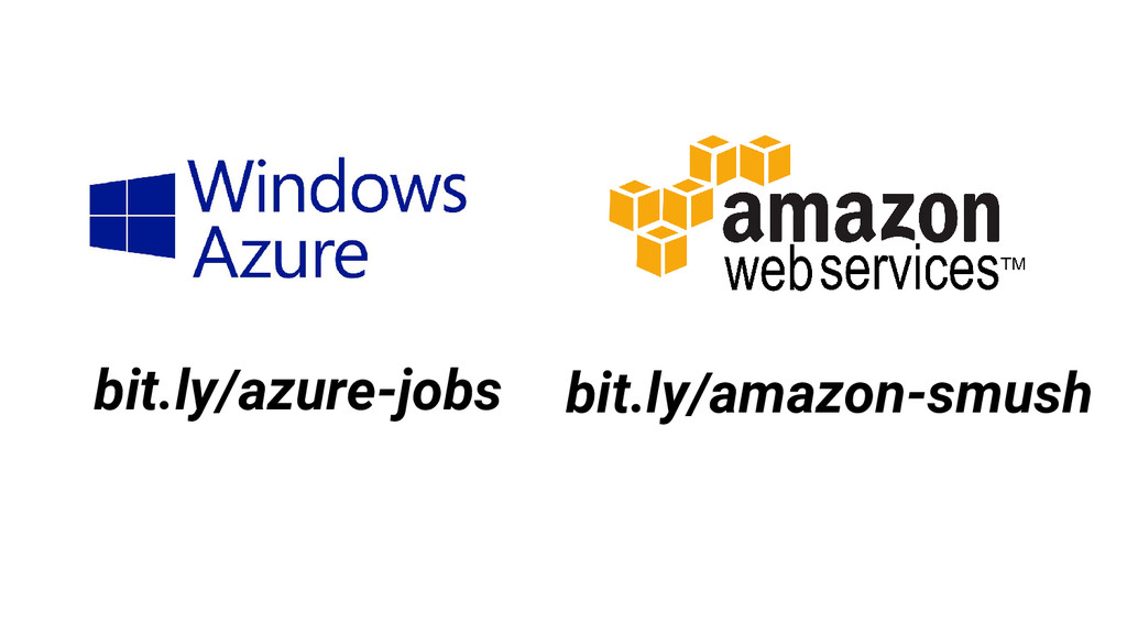 bit.ly/azure-jobs bit.ly/amazon-smush
