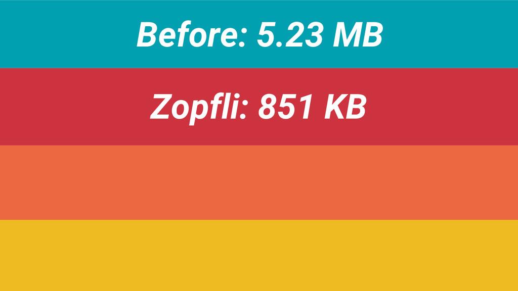 Before: 5.23 MB Zopfli: 851 KB