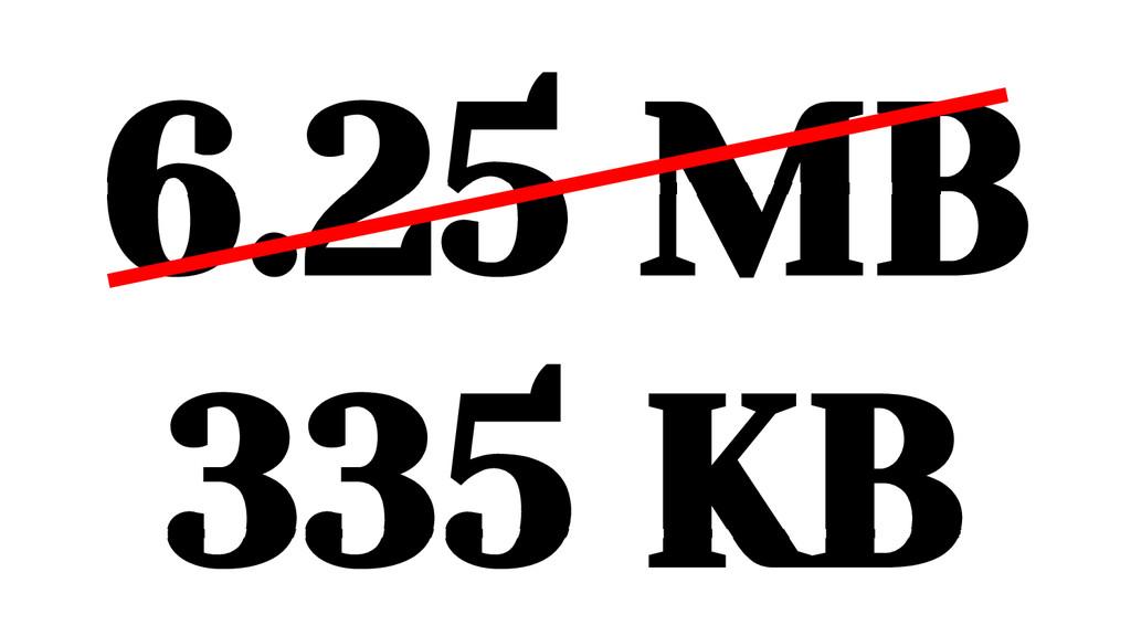 6.25 MB 335 KB