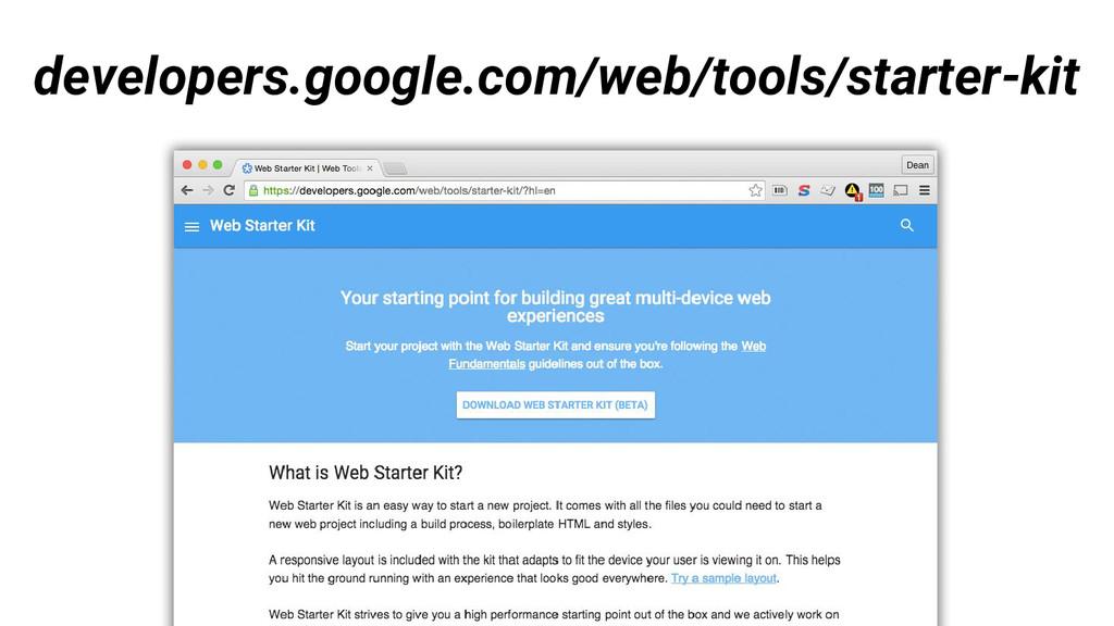 developers.google.com/web/tools/starter-kit
