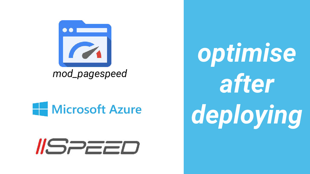 mod_pagespeed optimise after deploying