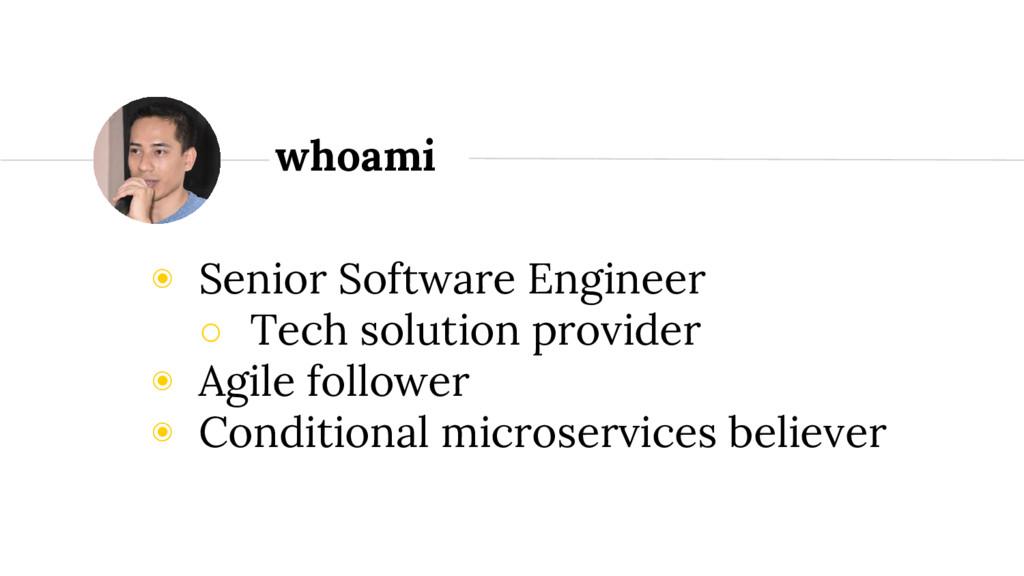◉ Senior Software Engineer ○ Tech solution prov...