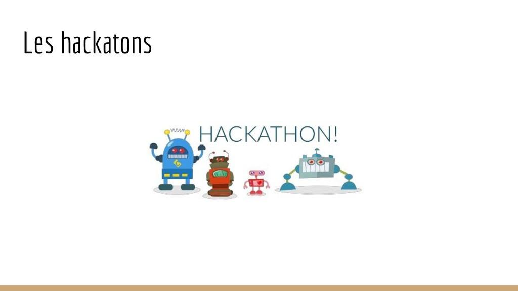 Les hackatons