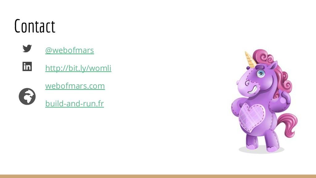 Contact @webofmars http://bit.ly/womli webofmar...