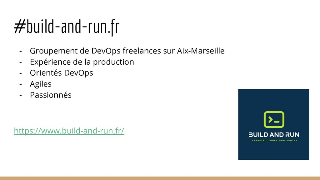 #build-and-run.fr - Groupement de DevOps freela...