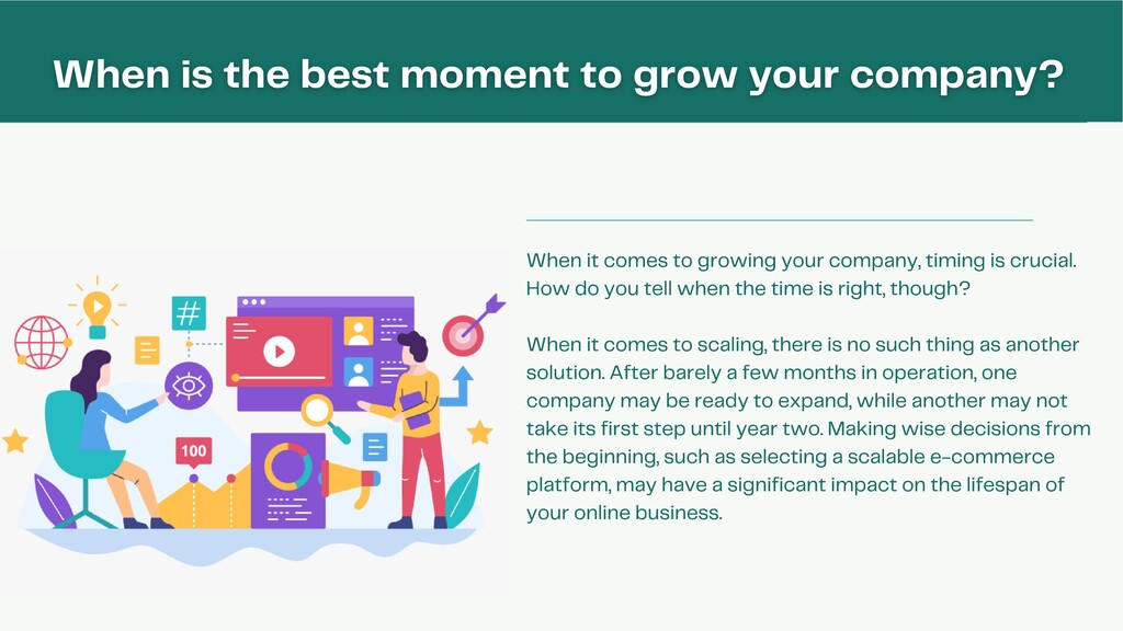 When it comes to growing your company, timing i...