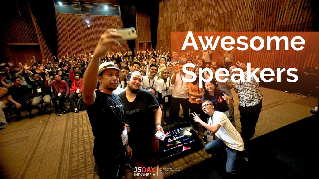 Awesome Speakers