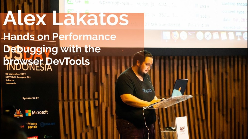 Alex Lakatos Hands on Performance Debugging wit...