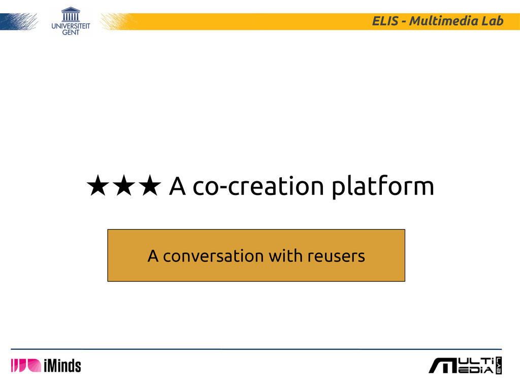 ★★★ A co-creation platform ELIS - Multimedia La...