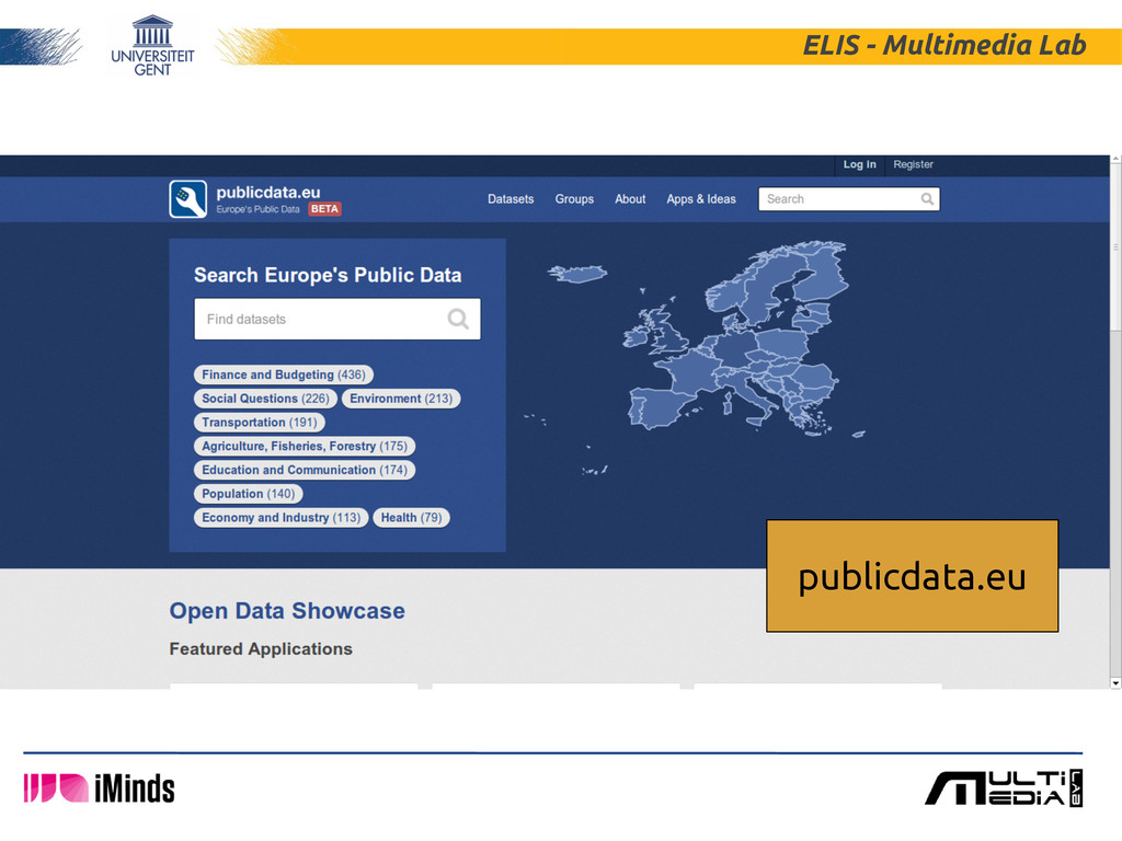 ELIS - Multimedia Lab publicdata.eu