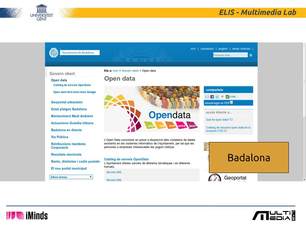 ELIS - Multimedia Lab Badalona