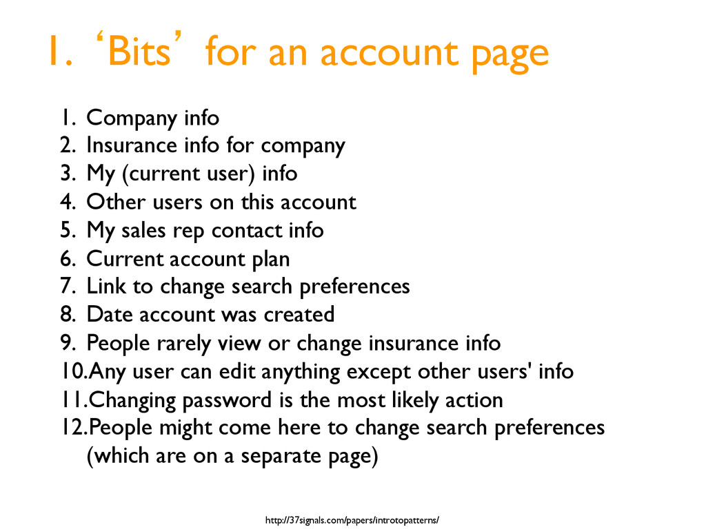 1. bBits` for an account page http://37signals....