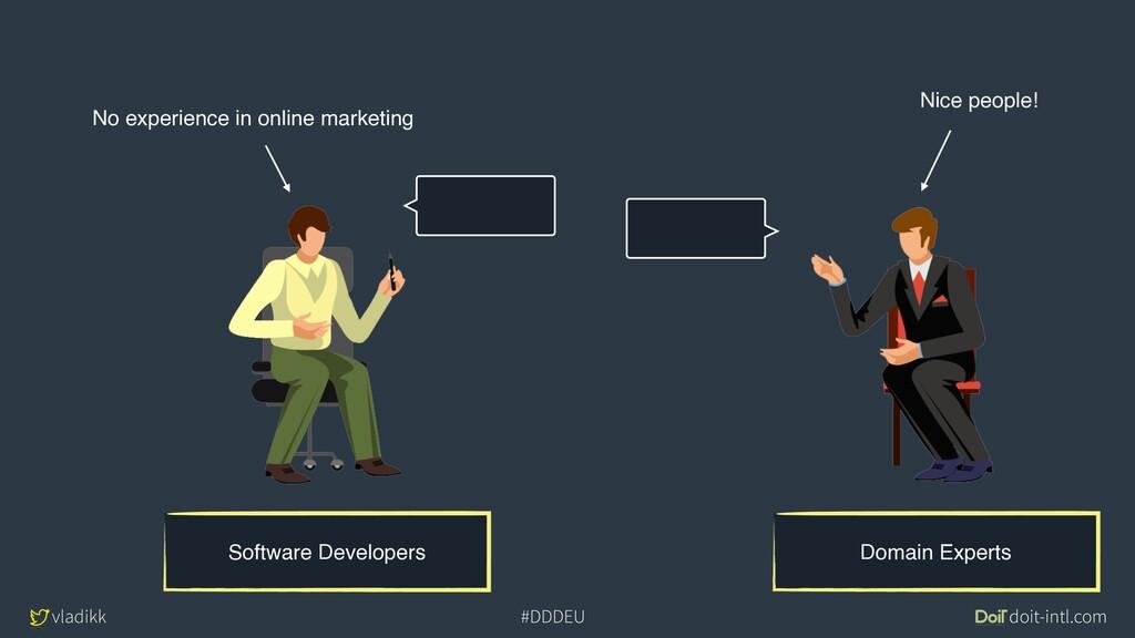 vladikk doit-intl.com #DDDEU Domain Experts Sof...