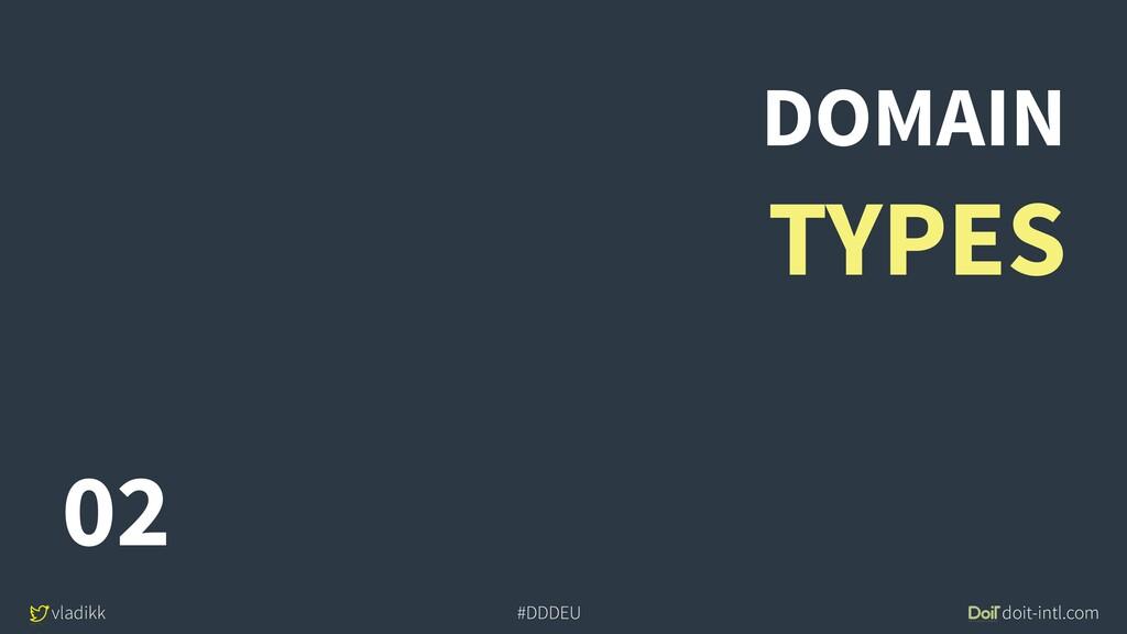 vladikk doit-intl.com #DDDEU DOMAIN TYPES 02