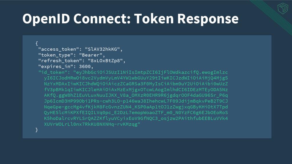 """{ """"access_token"""": """"SlAV32hkKG"""", """"token_type"""": """"..."""