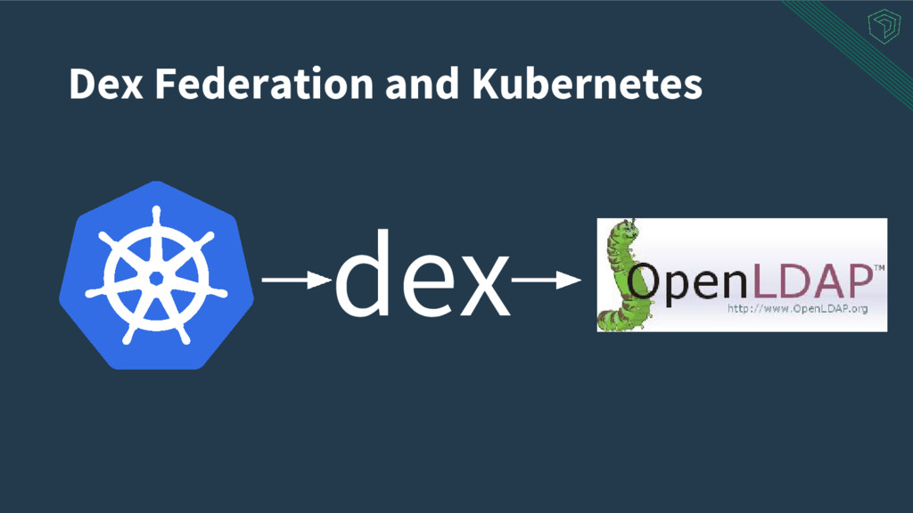 Dex Federation and Kubernetes dex
