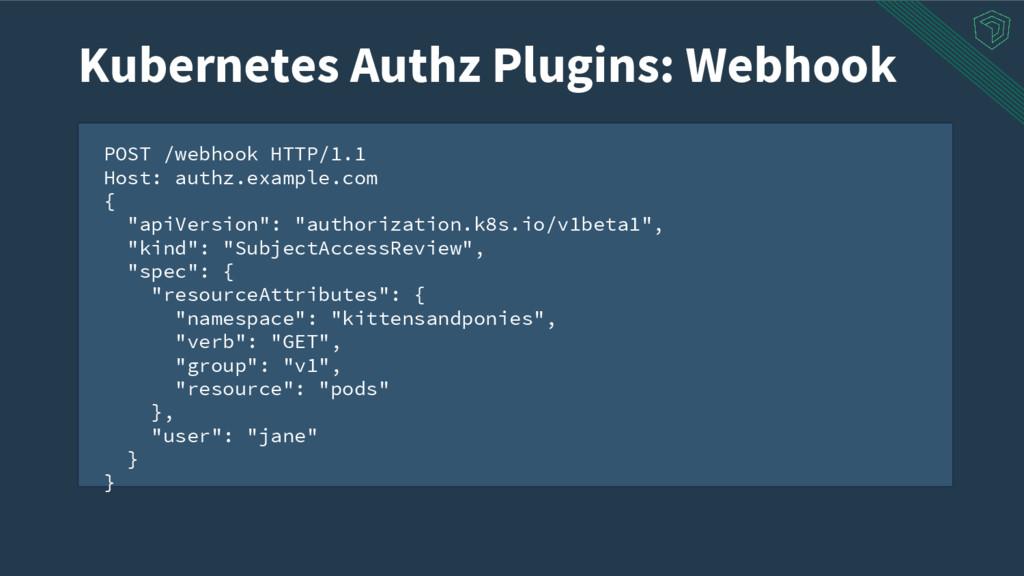 POST /webhook HTTP/1.1 Host: authz.example.com ...