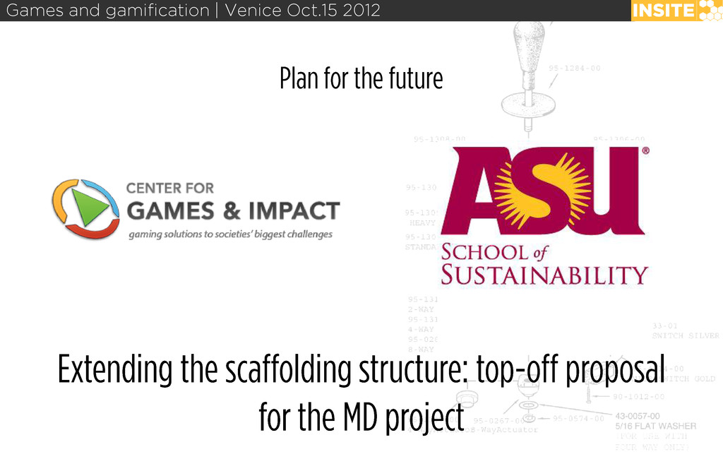 Games and gamification | Venice Oct.15 2012