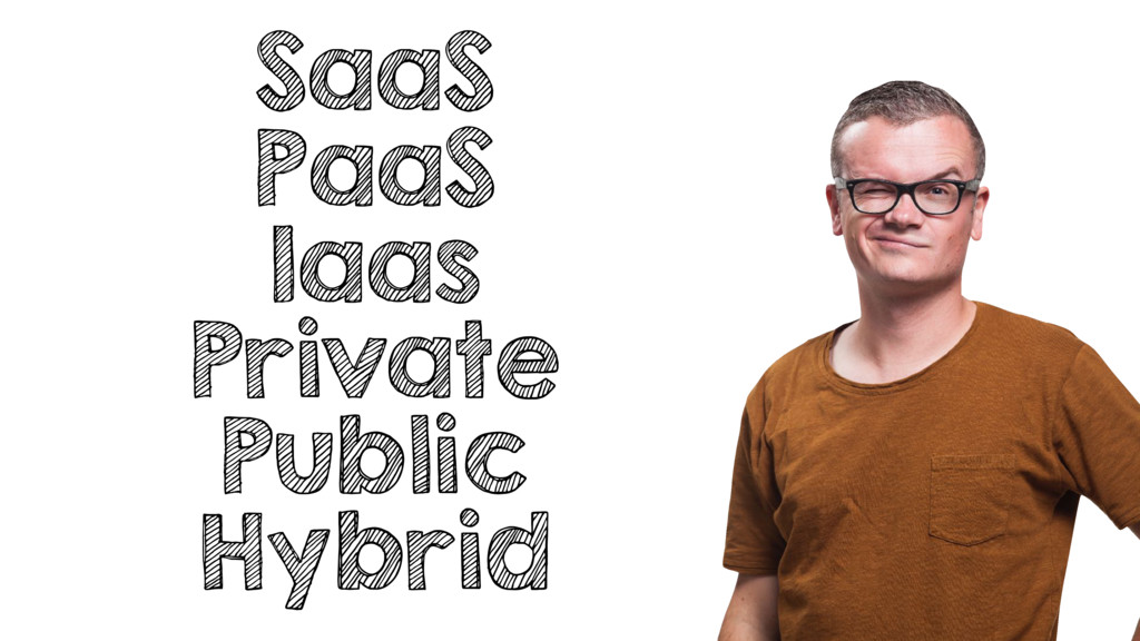 SaaS PaaS Iaas Private Public Hybrid