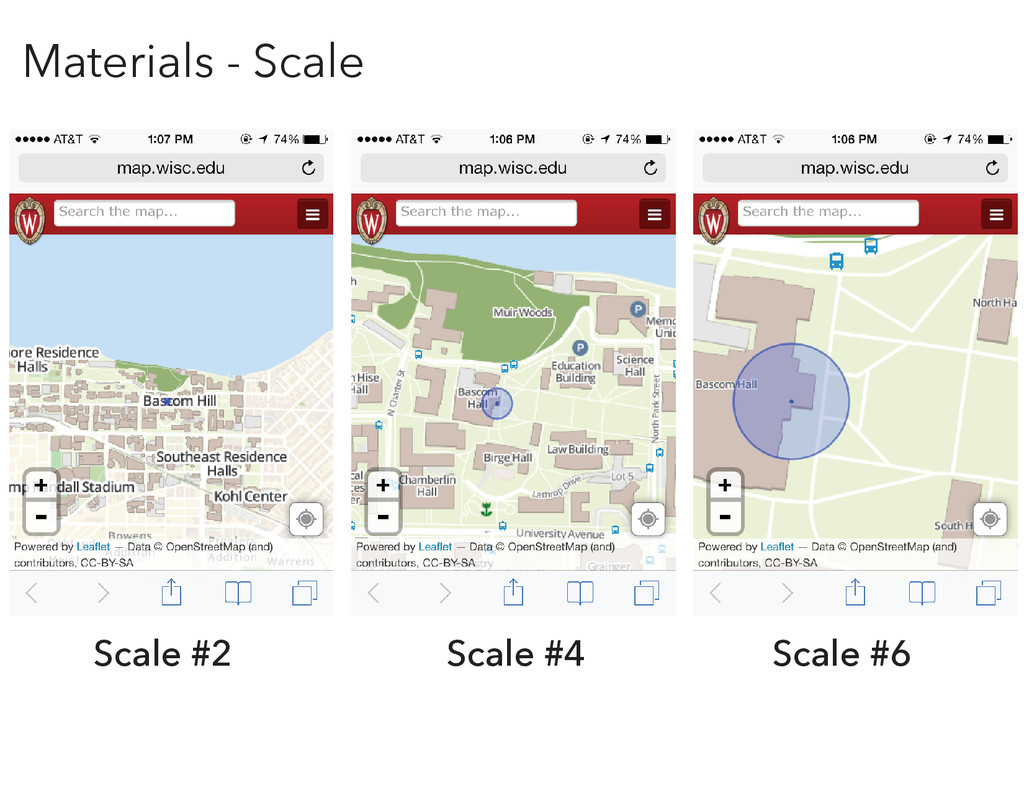Scale #2 Scale #4 Scale #6 Materials - Scale