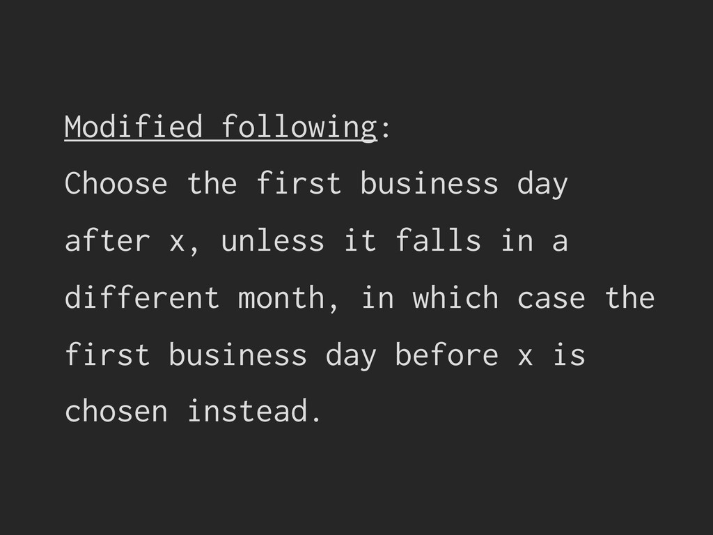 Modified following: Choose the first business d...