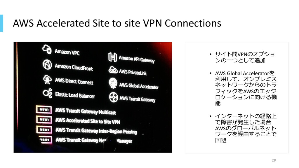 AWS Accelerated Site to site VPN Connections • ...