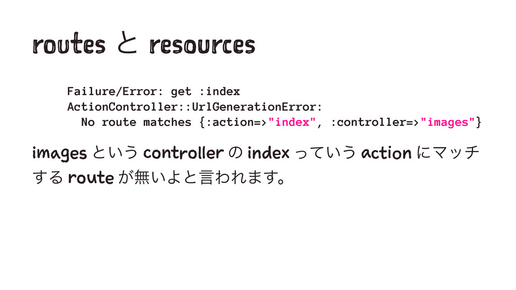 routes ͱ resources Failure/Error: get :index Ac...