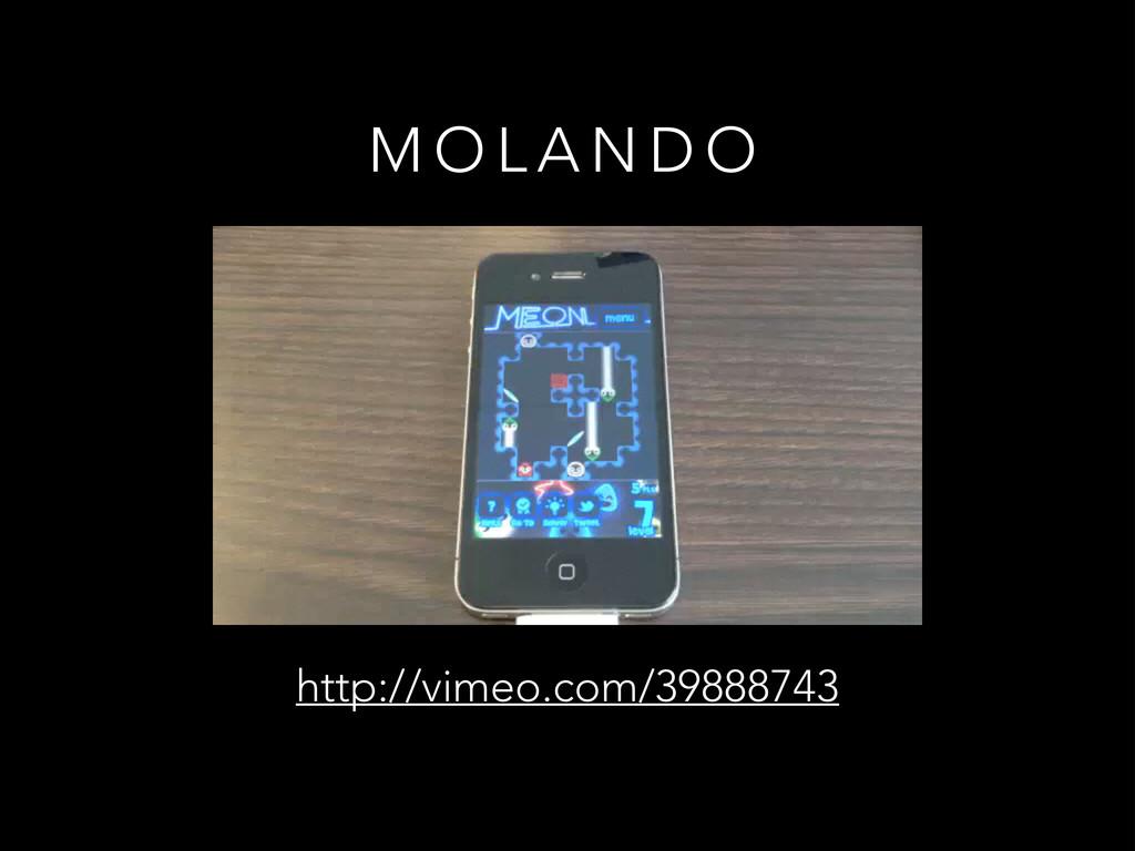 M O L A N D O http://vimeo.com/39888743
