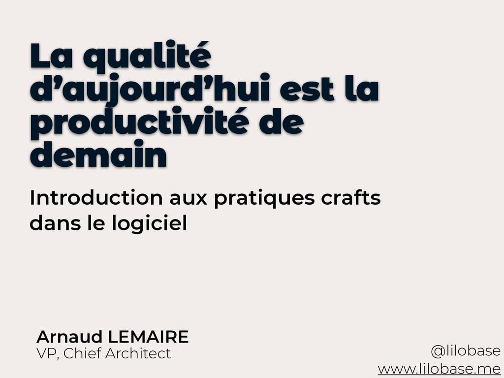 Introduction aux pratiques crafts dans le logic...