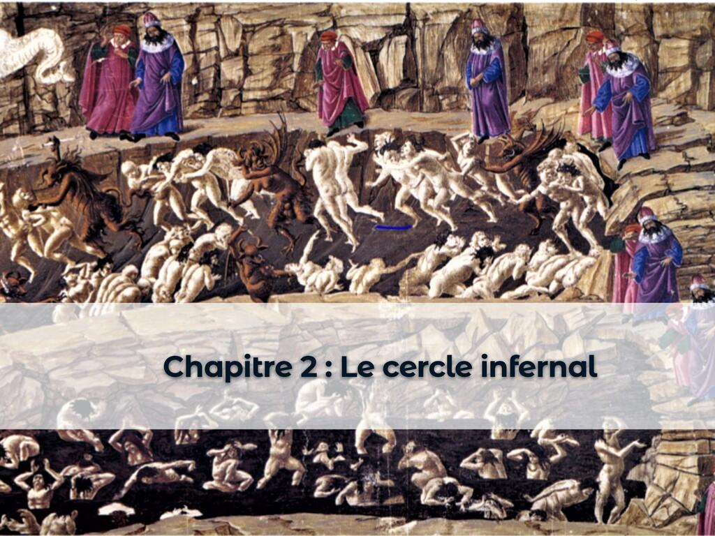 Chapitre 2 : Le cercle infernal