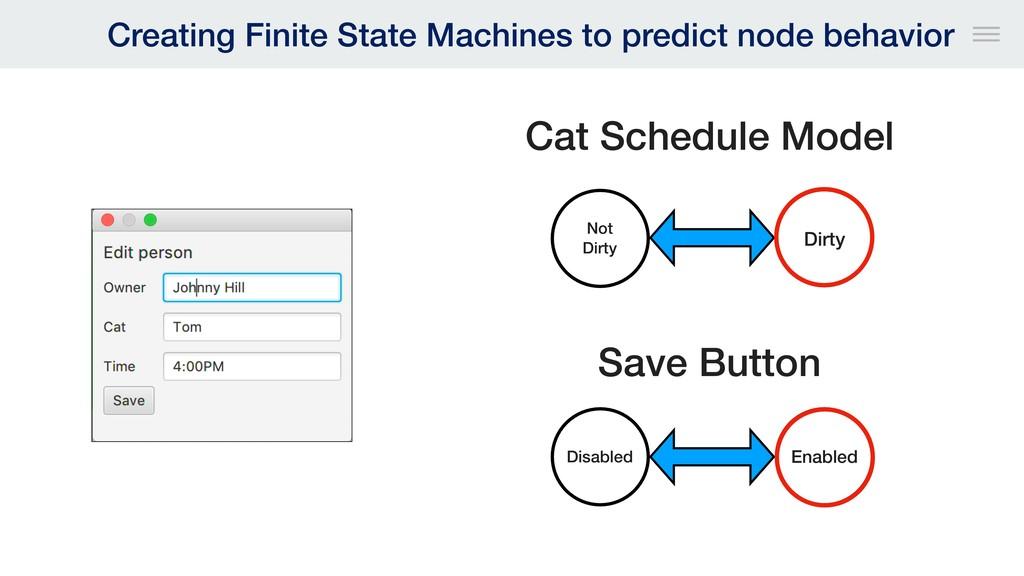 Creating Finite State Machines to predict node ...