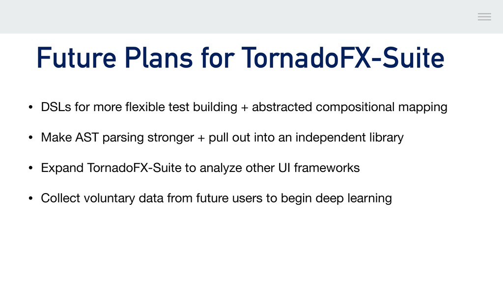 Future Plans for TornadoFX-Suite • DSLs for mor...