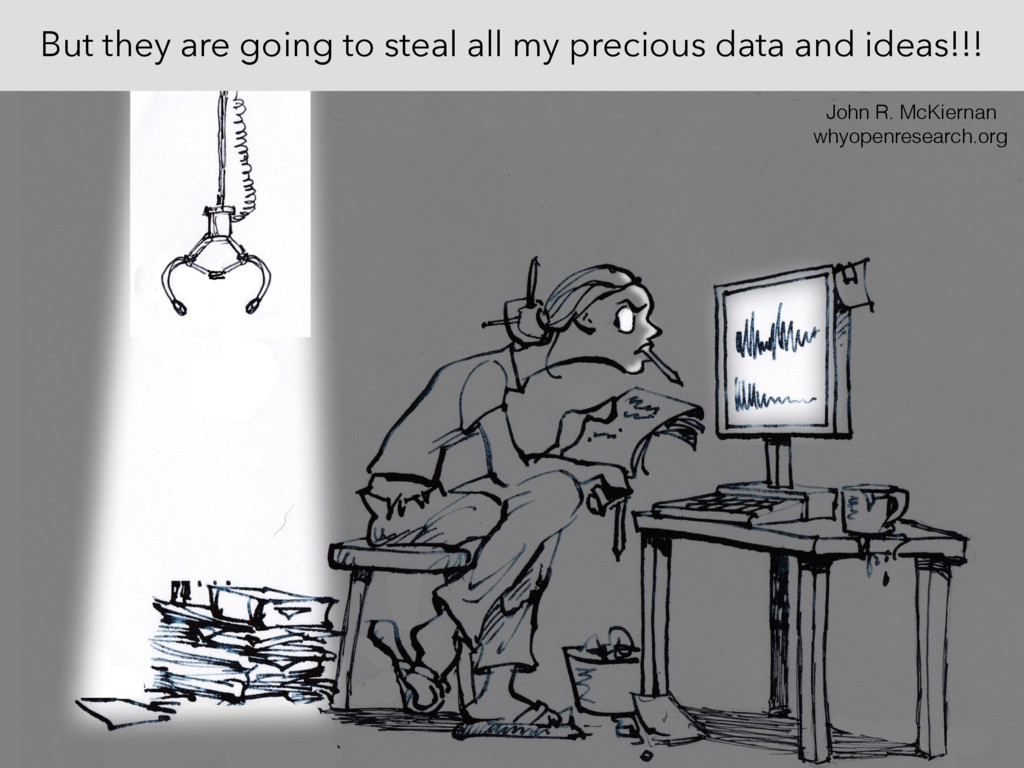 But they are going to steal all my precious dat...