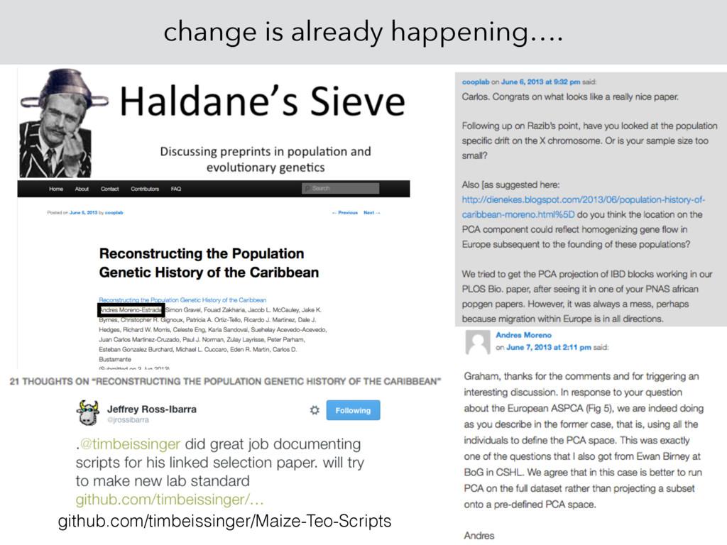 change is already happening…. github.com/timbei...