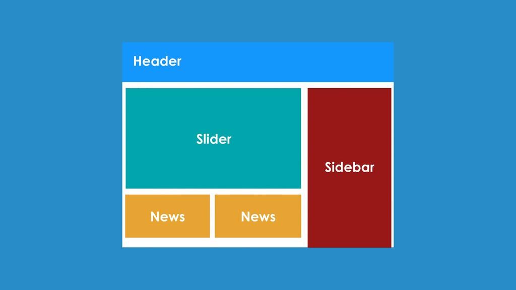Header Sidebar Slider News News