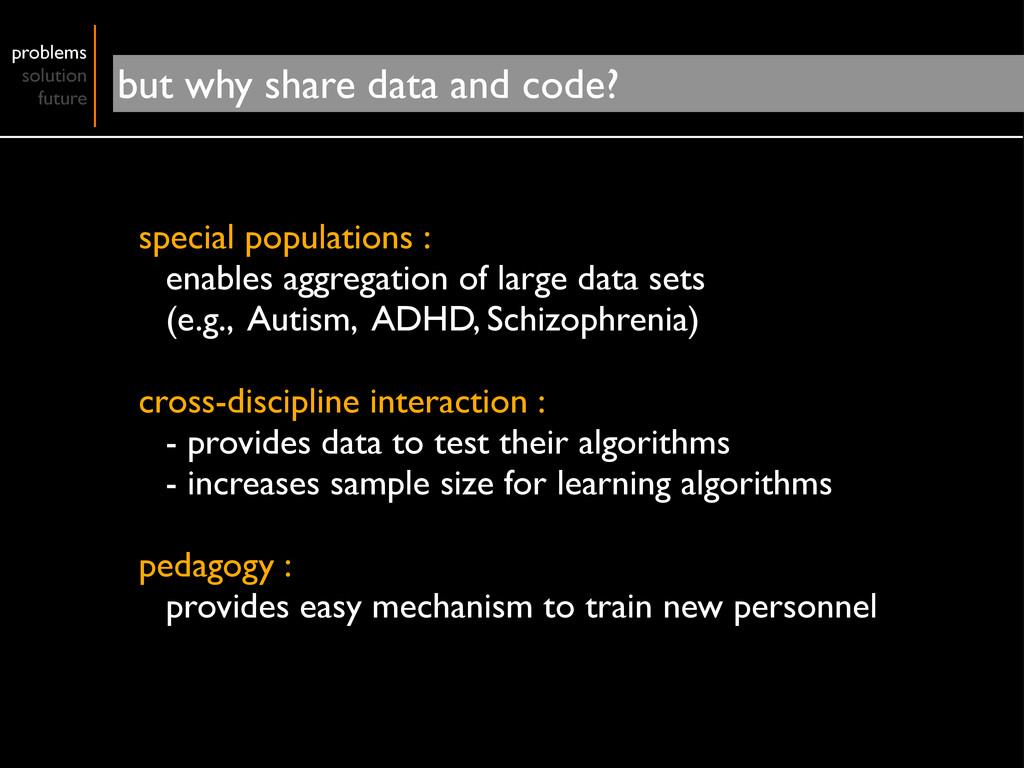 special populations : enables aggregation of la...