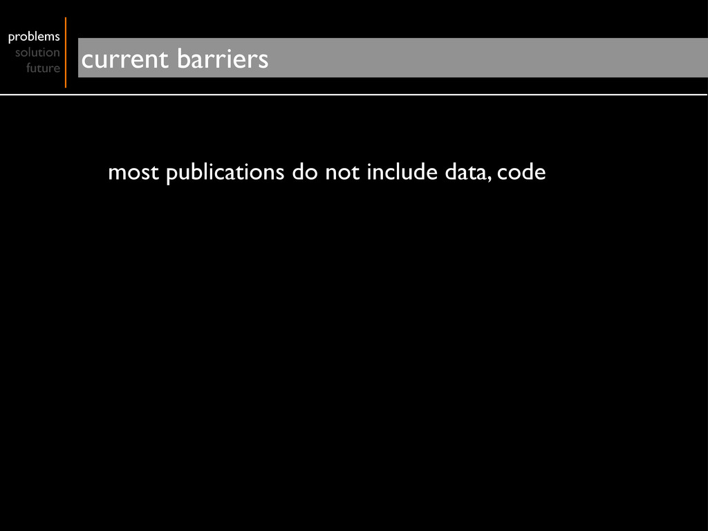 most publications do not include data, code pro...