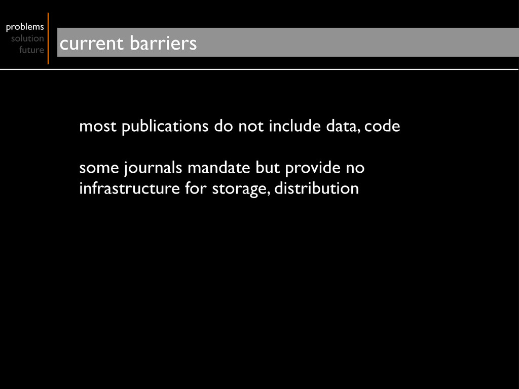 most publications do not include data, code som...