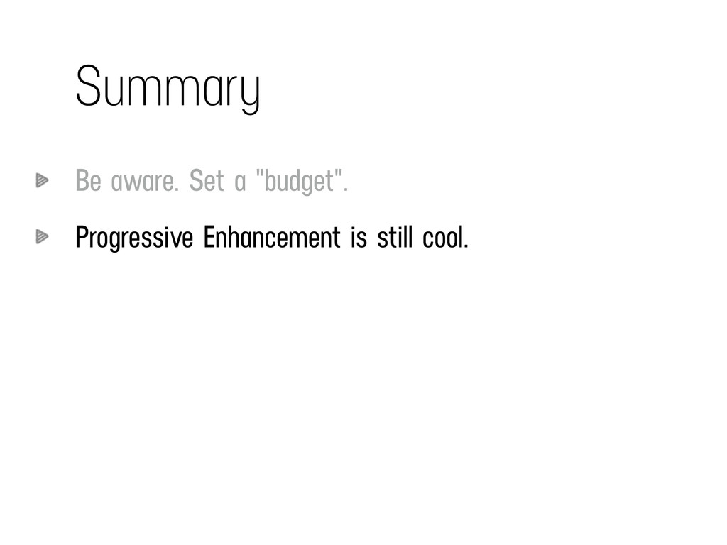 "Summary Be aware. Set a ""budget"". Progressive E..."