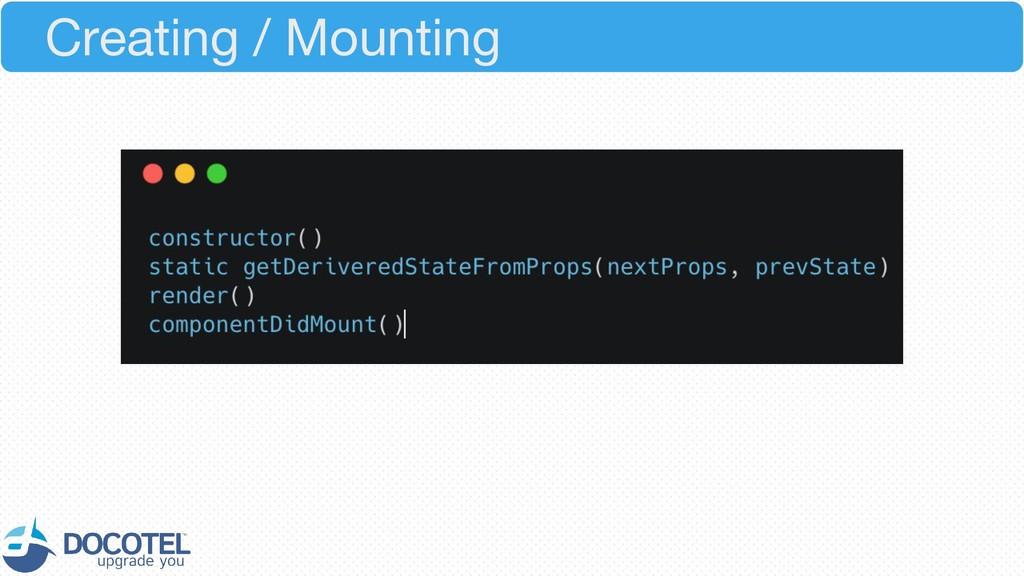 Creating / Mounting