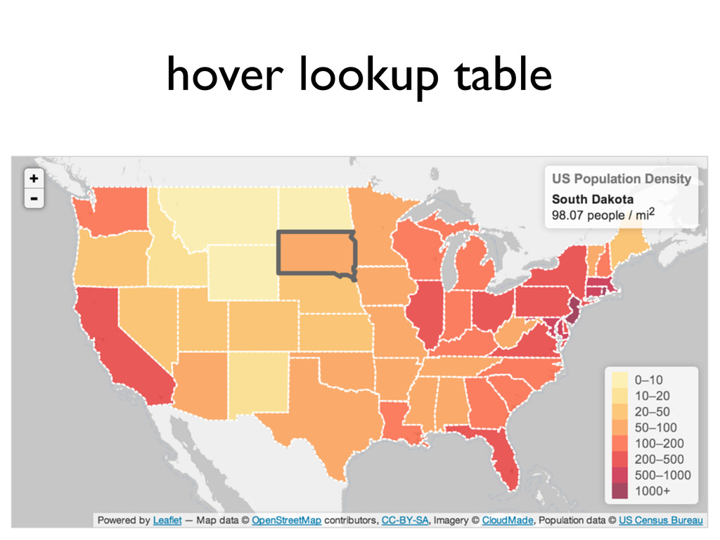 hover lookup table