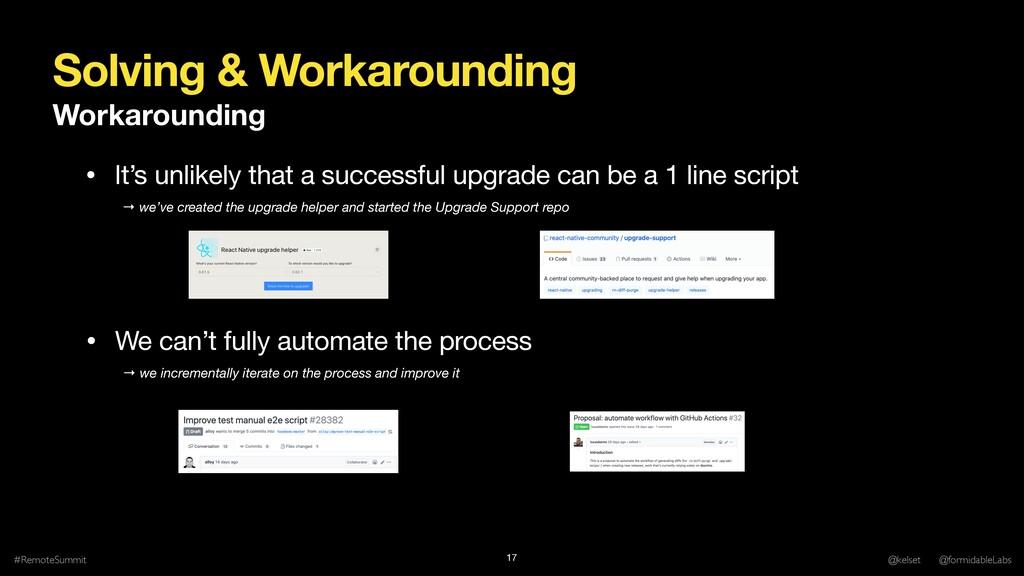Solving & Workarounding Workarounding #RemoteSu...