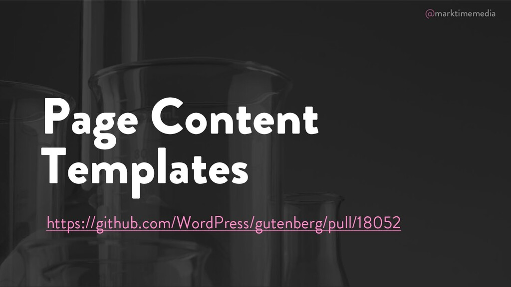 @marktimemedia Page Content Templates https://g...